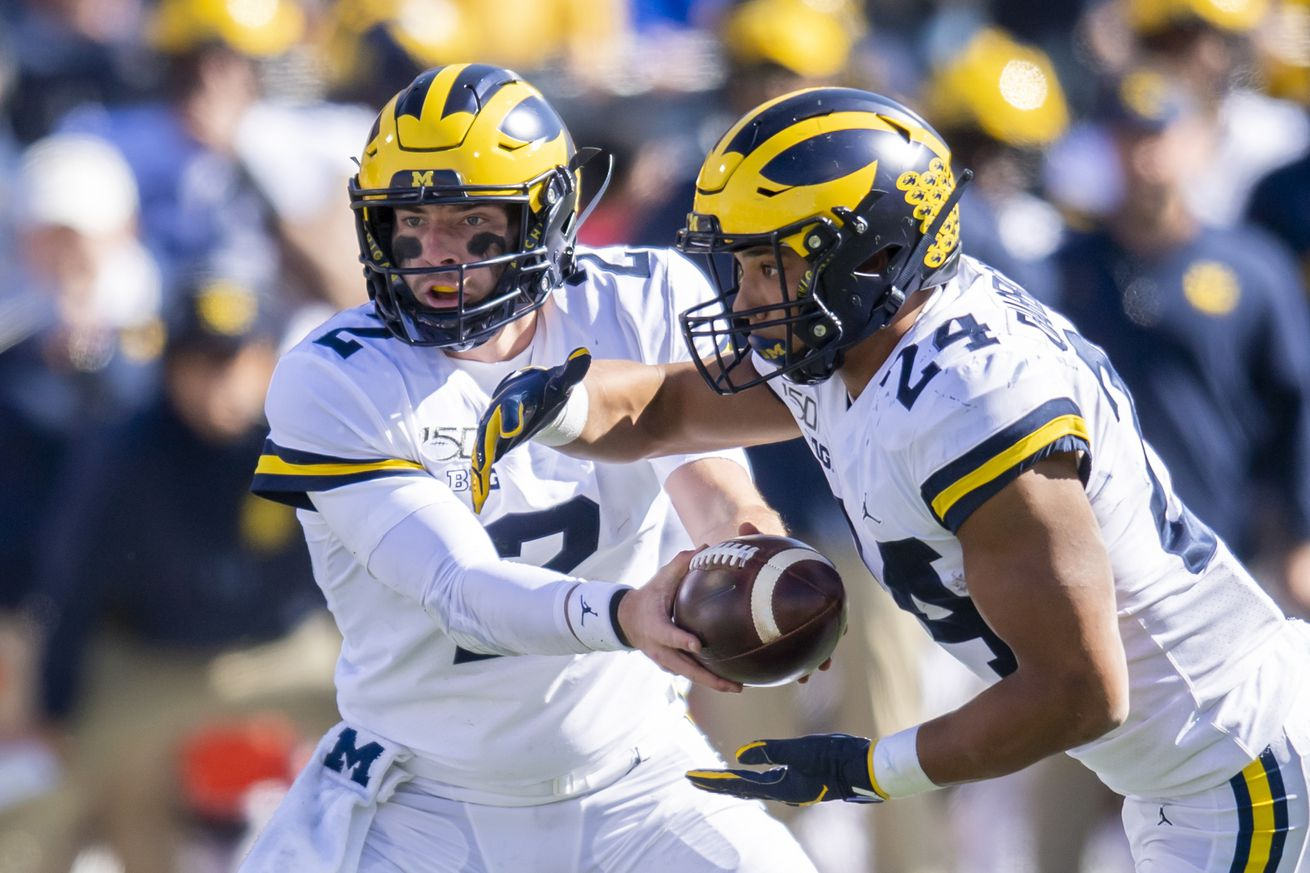 NCAA Football: Michigan at Illinois