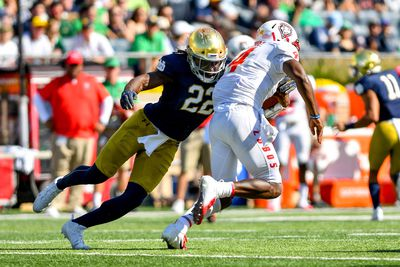 NCAA Football: New Mexico at Notre Dame