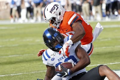 NCAA Football: Duke at Virginia