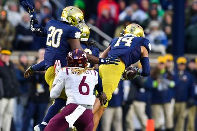 NCAA Football: Virginia Tech at Notre Dame